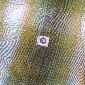 Marmot Shirts - Marmot lightweight plaid flannel shirt, M